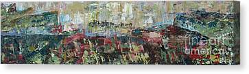View From A Cliff - Sold Canvas Print by Judith Espinoza