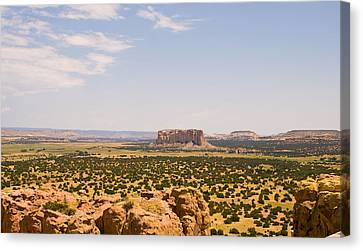 View From Acoma Mesa Canvas Print by James Gay