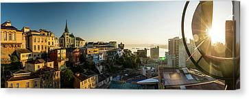 View From Ascensor Reina Victoria Canvas Print by Panoramic Images