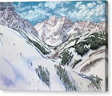 View From Aspen Highlands Canvas Print