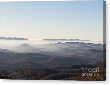 View From Blood Mountain Canvas Print by Paul Rebmann