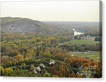 View From Bowman's Tower South Canvas Print by Addie Hocynec