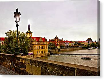 View From Charles Bridge Canvas Print by Madeline Ellis