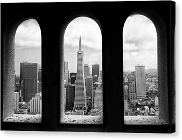 View From Coit Tower Canvas Print