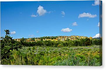 Canvas Print featuring the photograph View From Crystal Cove by Joseph Hollingsworth