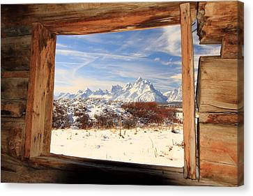 View From Cunningham Cabin Canvas Print