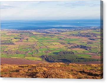View From Djouce Towards Bray And Greystones Canvas Print