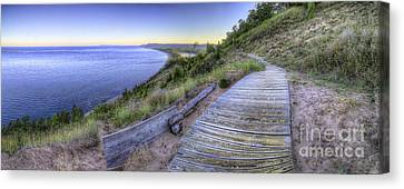 View From Empire Bluff Canvas Print by Twenty Two North Photography