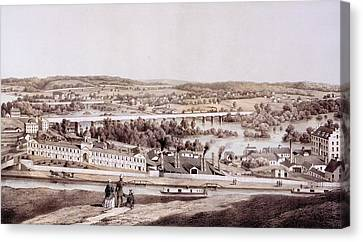 View From Gambles Hill, Richmond Canvas Print by Edward Beyer