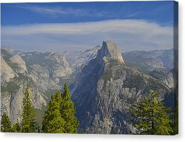 View From Glacier Point Yosemite Canvas Print by Alex King