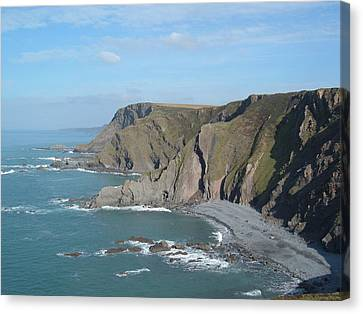 Higher Sharpnose Point Canvas Print by Richard Brookes