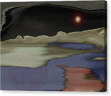 Sky Line Canvas Print - View From Inside The Cave by Lenore Senior