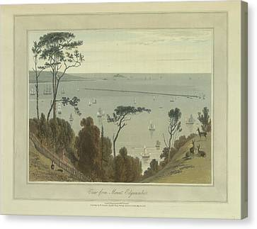 View From Mount Edgecumbe Canvas Print
