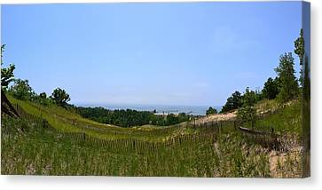 View From Mount Pisgah Canvas Print by Michelle Calkins
