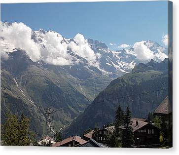 View From Murren Canvas Print