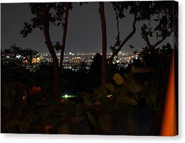 View From Palaad Tawanron Restaurant - Chiang Mai Thailand - 01132 Canvas Print by DC Photographer
