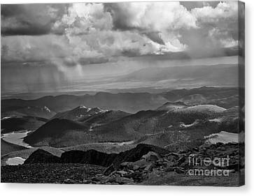 View From Pikes Peak Canvas Print