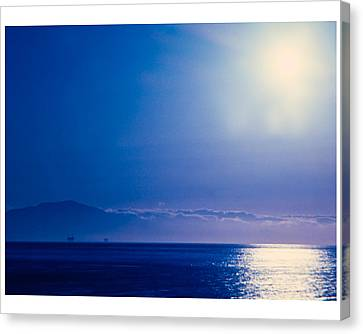 Canvas Print featuring the photograph View From Santa Barbara by Robert Culver