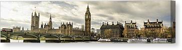View From Southbank Canvas Print by Heather Applegate