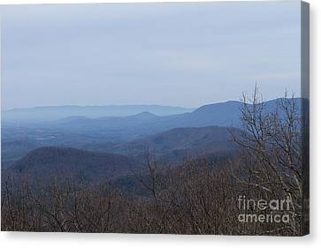 View From Springer Mountain Canvas Print by Paul Rebmann