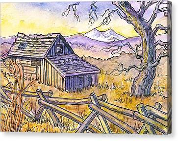 View From Strauss Cabin Road Canvas Print
