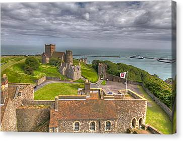 Canvas Print featuring the photograph View From The Great Tower by Tim Stanley