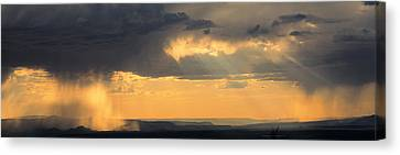 View From The High Road To Taos, New Canvas Print