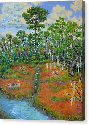 View From The Marsh Canvas Print