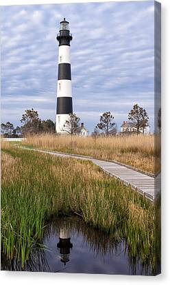View From The Marsh Canvas Print by Gregg Southard