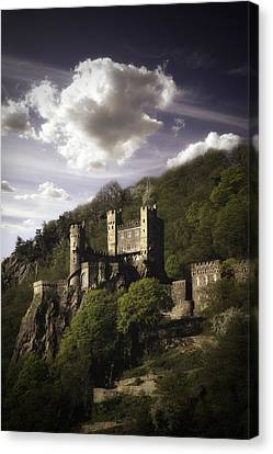 View From The Rhine River Canvas Print