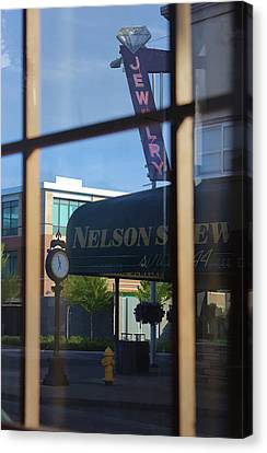 View From The Window Auburn Washington Canvas Print