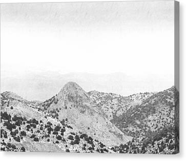 View From Virginia City Nevada Canvas Print