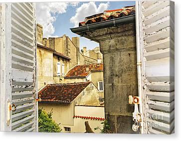 View In Cognac Canvas Print by Elena Elisseeva