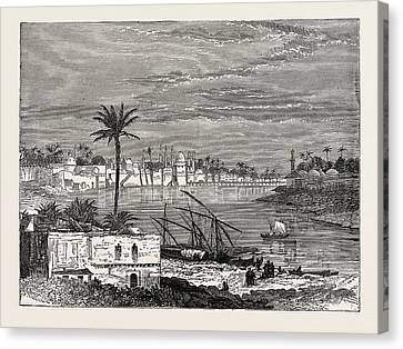 View Of Baghdad. Capital Of The Republic Of Iraq Canvas Print