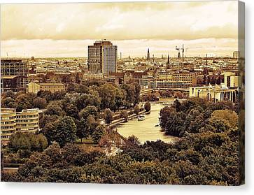 View Of Berlin Canvas Print by Gynt