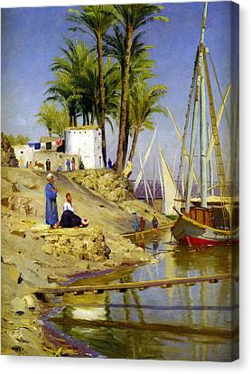 View Of Cairo Canvas Print