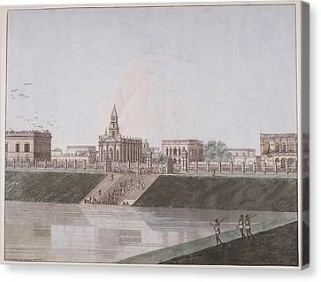 View Of Calcutta Canvas Print