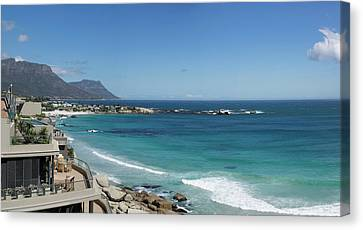 View Of Clifton Beach, Cape Town Canvas Print by Panoramic Images