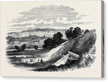 View Of Ipswich, From Store Hill Canvas Print