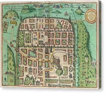 View Of Jerusalem Canvas Print