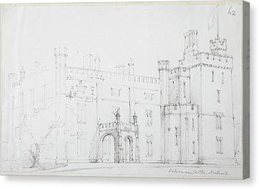 View Of Kilronan Castle Canvas Print by British Library