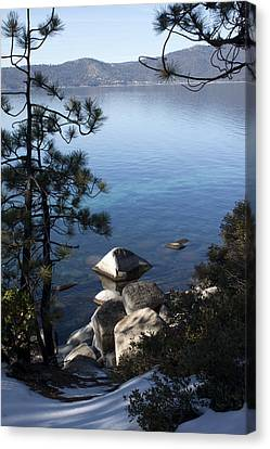 View Of Lake Tahoe Canvas Print