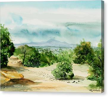 View Of Laplata Mountains Canvas Print