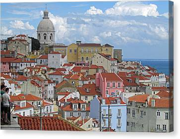 View Of Lisbon Portugal Canvas Print