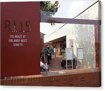 View Of Mandela House, Soweto Canvas Print by Panoramic Images