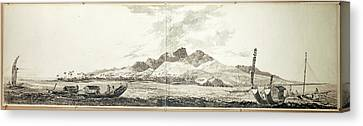 View Of Matavai Bay Canvas Print by British Library
