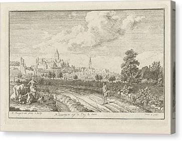 Country Roads Canvas Print - View Of Nijmegen, The Netherlands, Albert Flamen by Albert Flamen And Jacques Van Merlen