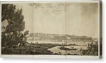 View Of Quebec Canvas Print