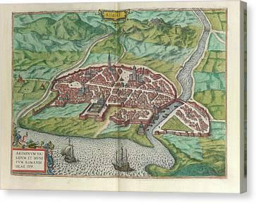 View Of Rimini Canvas Print