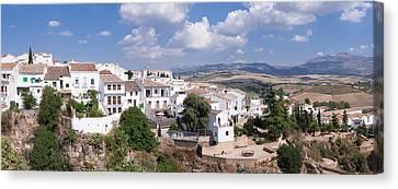 View Of Ronda, Malaga Province Canvas Print